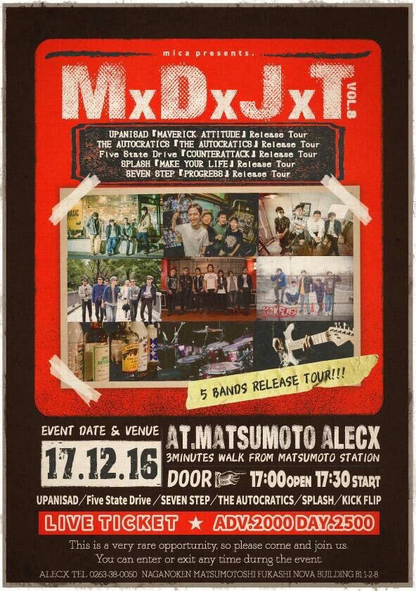 "4th Demo ""COUNTERATTACK"" Release Tour / MxDxJxT vol.8"