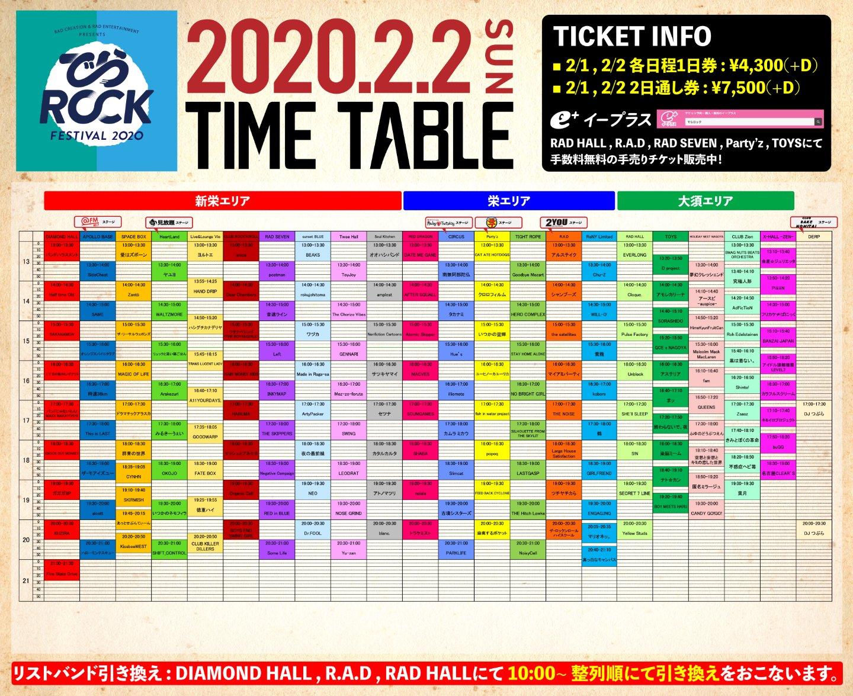 でらロックフェスティバル2020